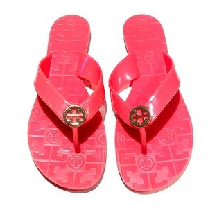 TORY BURCH JELLY FLOPS